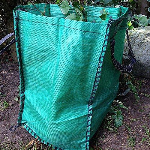 Yuzet Lot de 10 sacs réutilisables pour courses ou multi-usages, particulièrement résistant