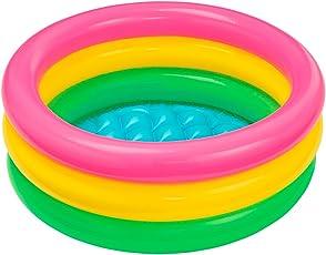 Intex Baby Bath Tub, Multi Color (2 feet)