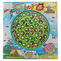 Fishing Fishing Game 45 Fishes 5 Players For Kids - Unisex, Multi Color