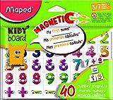 Maped M587311 - Magnete Fancy 40 Zahlen für Kidy Board