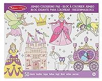 Melissa & Doug Jumbo Coloring Pad - Princess & Fairy