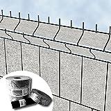 Venezia - Protección para esgrima de jardín valla - Diseno de franjas de pantalla de vellón para...