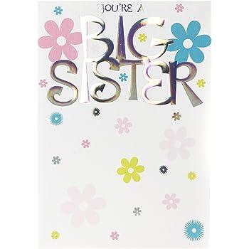 Hallmark New Baby Card Im A Big Sister