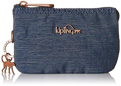 Kipling - Creativity S, Monederos Mujer, Blau (Spark Navy), 14.5x9.5x0.1 cm (B...