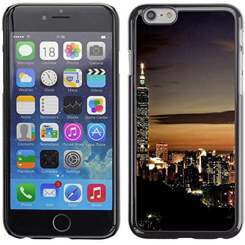 Graphic4You Hong Kong Postkarte Ansichtskarte Design Harte Hülle Case Tasche Schutzhülle für Apple iPhone 6 Plus / 6S Plus Singapore #1