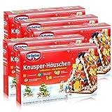 Dr.Oetker-Knusper-Häuschen Lebkuchenhaus Advent Weihnachten 403g (5er Pack)