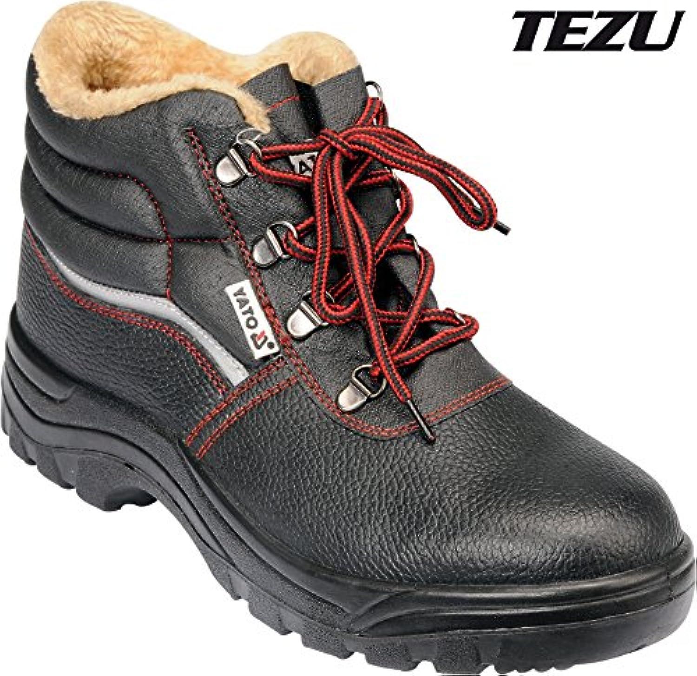 YATO YT-80845 - zapatos de seguridad de corte medio talla 43