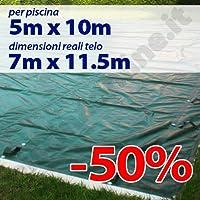 Copertura invernale per piscina 5 x 10 per tubolari