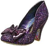 Irregular Choice Women�s Nick of Time Closed-Toe Pumps, Purple (Purple Multi Am), 6 UK