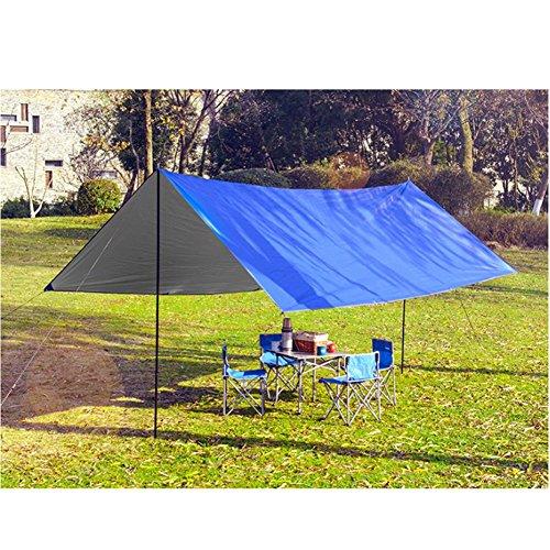 L&Z Himmel zusammenklappbar UV-Schaukeldach Outdoor Camping Sonnensegel Pergola Sonne Schutz Regen...