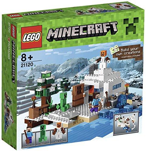 lego-minecraft-21120-il-nascondiglio-nella-neve-gioco-di-costruzioni