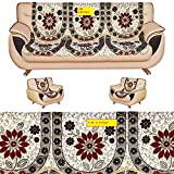 #7: Amazon Great Indian Festival Sale presents FAB NATION 10 Sofa Panels for a 5 seater sofa - Multicolor sofa cover and chair cover set