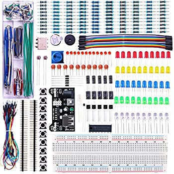 HENMI 3pcs MB-102 Breadboard 830 Point Solderless Prototype PCB Board Kit for Arduino Proto Shield Distribution Connecting Blocks
