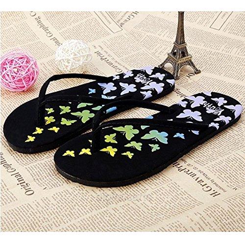 Moaeuro - Sandales Noires Pour Femmes