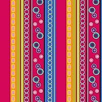 Mantel de hule, rectangular 140 x 200cm Fucsia