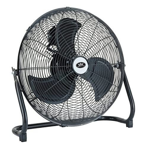 "61SN3rgn0mL. SS500  - Prem-I-Air 18"" (45 cm) High Velocity Air Circulator with Chrome Finish"