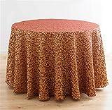 BKPH Doppel Hotel der gehobenen Klasse Restaurant Runde Tischdecke Hotel Tischdecken große Runde Tischtuch Tischdecke Runde Tischtuch, B, 2 Meters