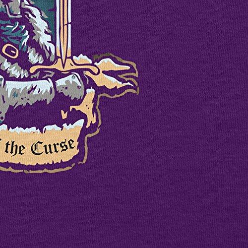 ... NERDO - Bearer of the Curse - Damen T-Shirt Violett ...
