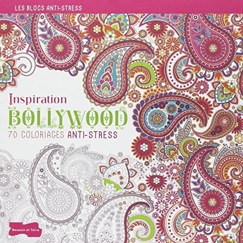 Inspiration Bollywood : 70 coloriages anti-stress por Isabelle Jeuge-Maynart, Ghislaine Stora