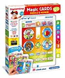 Sapientino Clementoni 13261 Magic Cards Lettere e Numeri, 4-6 Anni