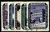 Goldhahn Briefmarken Österreich Nr. 989-993 gestempelt