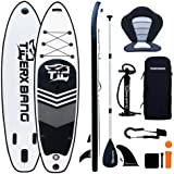 Tigerxbang SUP-bräda stående paddelbräda | 300 x 71 x 15 cm | 320 x 80 x 15 cm | för vuxna/barn | ISUP surfing komplett kit