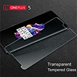 #10: SWAG For One plus 5 / 1+5 - SWAG Edge to Edge Full Front Body Cover 2.5D, 9H, Curved Tempered Glass Screen Protector Guard for One plus 5 / 1+5 - Clear