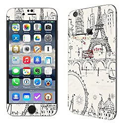 Theskinmantra Paris street SKIN/STICKER for Apple Iphone 6