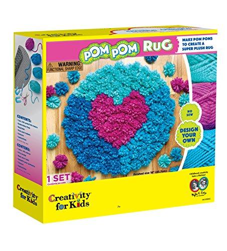 Creativity for Kids - Pom Pom Rug
