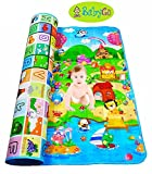BabyGo Double Side Water resistant Baby Mat ,(Color and design may vary)(6ft X 4 ft)
