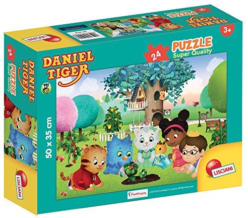 Lisciani giochi 59928 - puzzle sq 24 daniel tiger