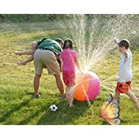 DEBRIS TIME Bola Inflable de PVC con Spray de Agua Hinchable (75 cm)