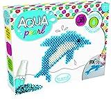 Unbekannt Aladine 47052 - Aqua Pearl Small Delfin Bastelset