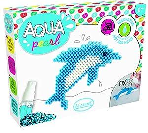 Unbekannt aladine Interconexión-Aqua Pearl Small Delfín Juego de Manualidades