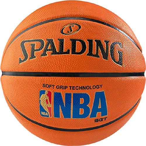 Spalding BB-SPALDING-LOGOMAN-ORNG-7 Basketball, Size 7 (Orange)