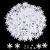 Totale 45 g Confetti a Fiocco di Neve Coriandoli Imitazione Diamanti Decorazione di Natale per la Festa di Natale Decor