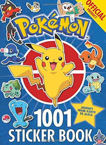 The Official Pokémon 1001 Sticker Book por Pokémon