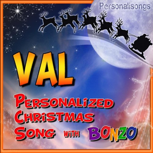 Val Personalized Christmas Song With Bonzo