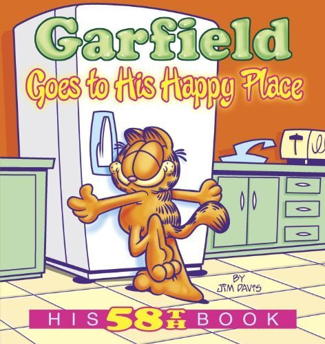 Garfield Goes to His Happy Place: His 58th Book by Davis, Jim (2014) Paperback