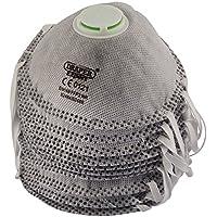 Draper 82484FFP2NR soldadura máscara de polvo–gris (Pack de 3), gris, 82485