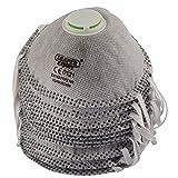 Draper 82484FFP2nr saldatura maschera antipolvere–grigio (confezione da 3), grigio, 82485