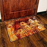 GAOJIAN Crude Holz Teppich Wohnzimmer Sofa Couchtisch Decke Anti Slip Tür Pad Kreative Kunst Boden Polyester Teppich, 120cm x 170cm, a