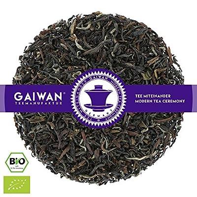 "N° 1369: Thé noir bio ""Darjeeling Tongsong SFTGFOP1"" - feuilles de thé issu de l'agriculture biologique - GAIWAN® GERMANY - thé noir de Inde"