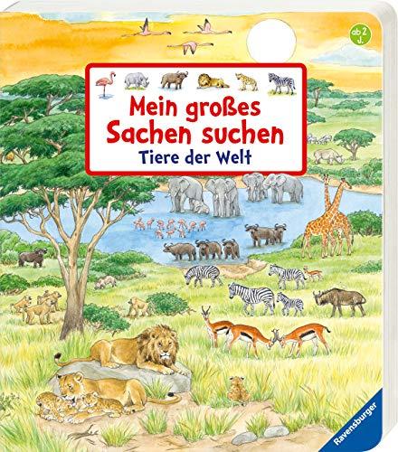 Mein großes Sachen suchen: Tiere der Welt