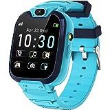 Kids SmartWatch - MP3 Muziek 14 Games Kids Smart Horloge Call Voice Chat SOS Zaklamp Digitale Camera, Klok met Telefoon Camer