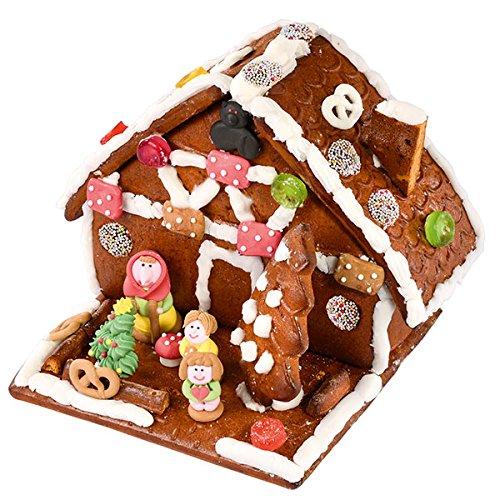Preisvergleich Produktbild Lebkuchen Hexenhaus - Bastelspass für die ganze Familie. Unser Lebkuchen-Hexen-Häuschen von Haribo zum Selberbasteln mit einer Extra 200g an Schokotalern gehört zu Weihnachten wie die Geschenke am Heiligen Abend. Netto Gewicht 700g