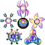 Toys For 4-12 Years Old Kids Party Favors Fidget Finger Hand Spinner Alloy Metal Small Gadget Desk Toys Spinning Top Focus Sp