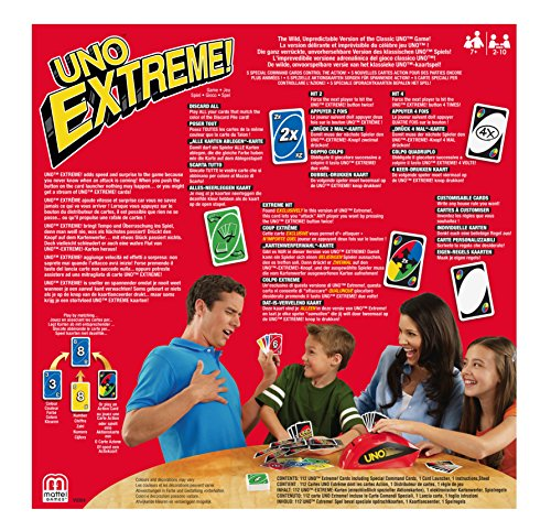 Uno and Card Games V9364 Extreme Card Game