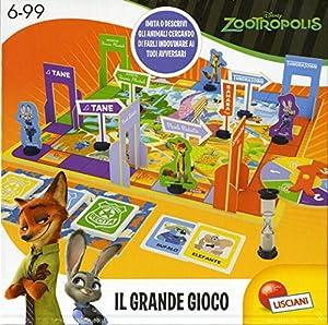 Lisciani 52974 Niños Viajes/Aventuras - Juego de Tablero (Viajes/Aventuras, Niños, Niño/niña, 6 año(s), Italiano, Multicolor)