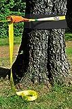 HUDORA Slackline Set mit Baumschutz - Balancierseil - 76656 - 3